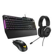 ASUS TUF Gaming K1 RGB Keyboard with Dedicated Volume Knob Spill-Resistance