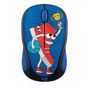 Logitech M238 Wireless Mouse, Doodle Collection with 15 Premium Stickers 910-005