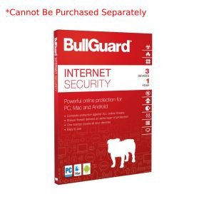 Add-on Only -  Bullguard Internet Security Latest Version 1-Year Protection 3 PC