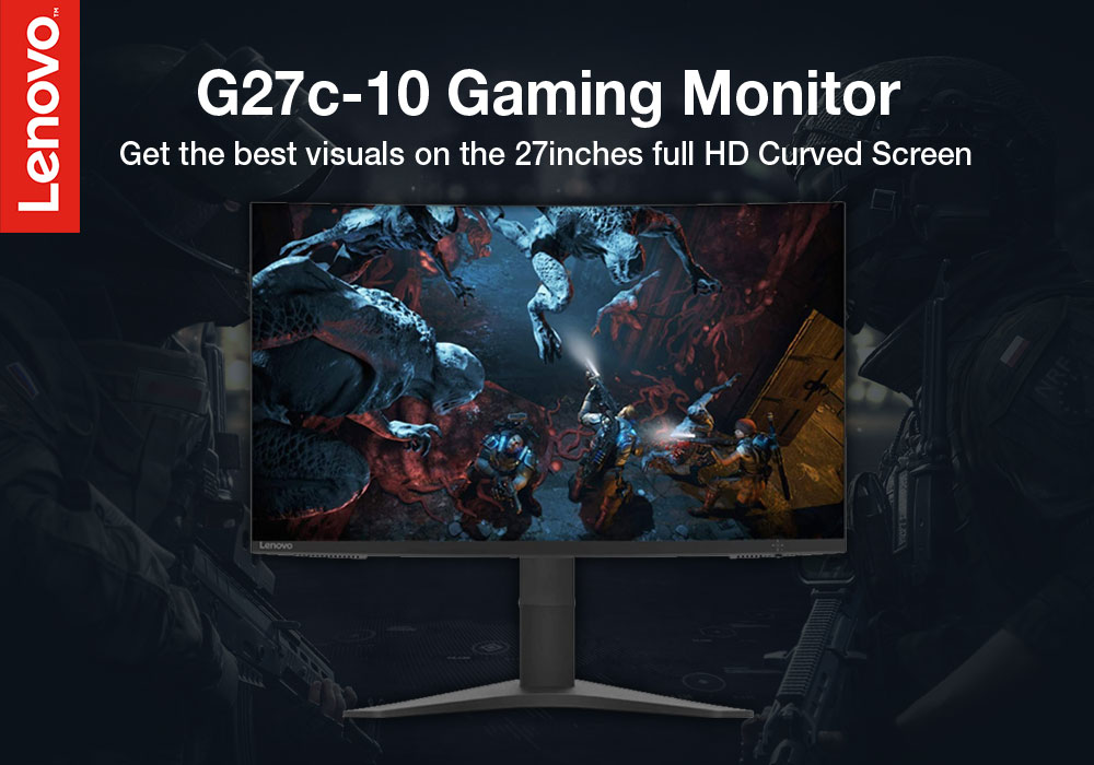 """Review: Lenovo G27c-10 27"""" Full HD Curved LED Gaming Monitor"""