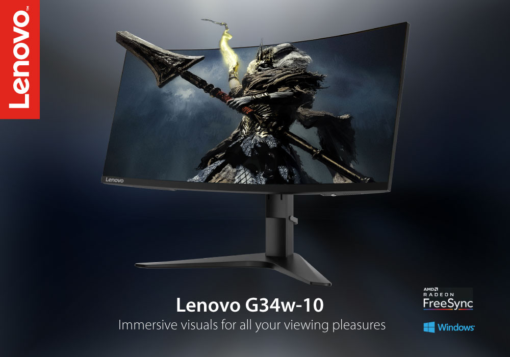 Review: Lenovo G34w-10 34-inch Ultrawide Curved Gaming Monitor