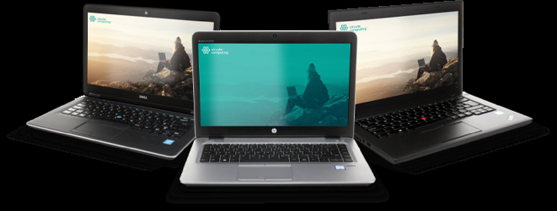 Carbon Neutral remanufactured laptops