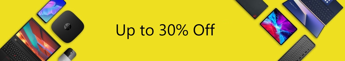 Up to 30% 0ff